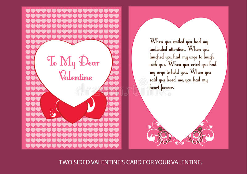 Download To my dear valentine stock vector. Image of candies, valentine - 22520809
