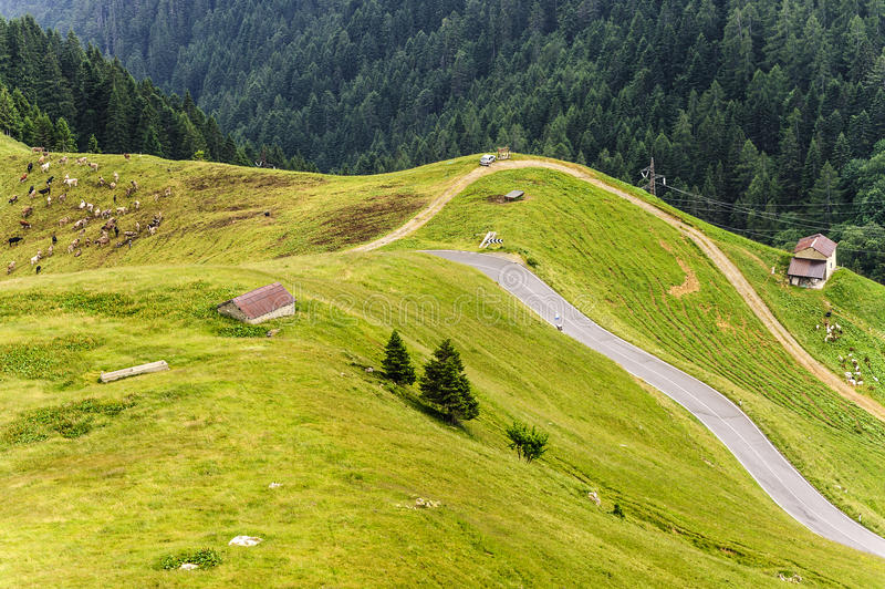 Download To Passo San Marco stock photo. Image of outdoor, meadow - 25863270