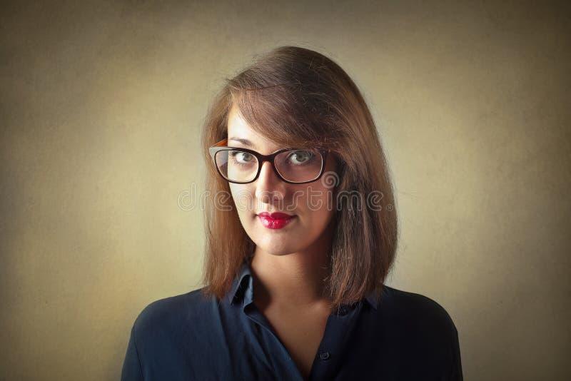 to portret kobiety young zdjęcie stock
