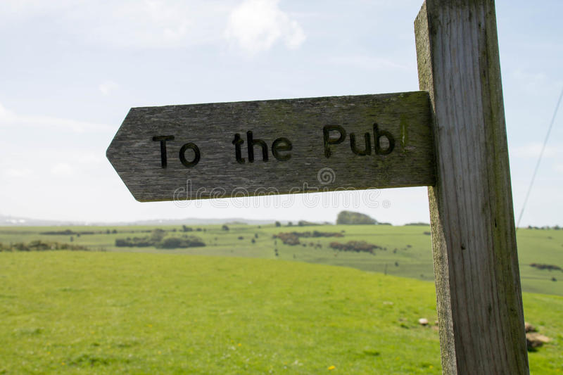 To the Pub royalty free stock photo