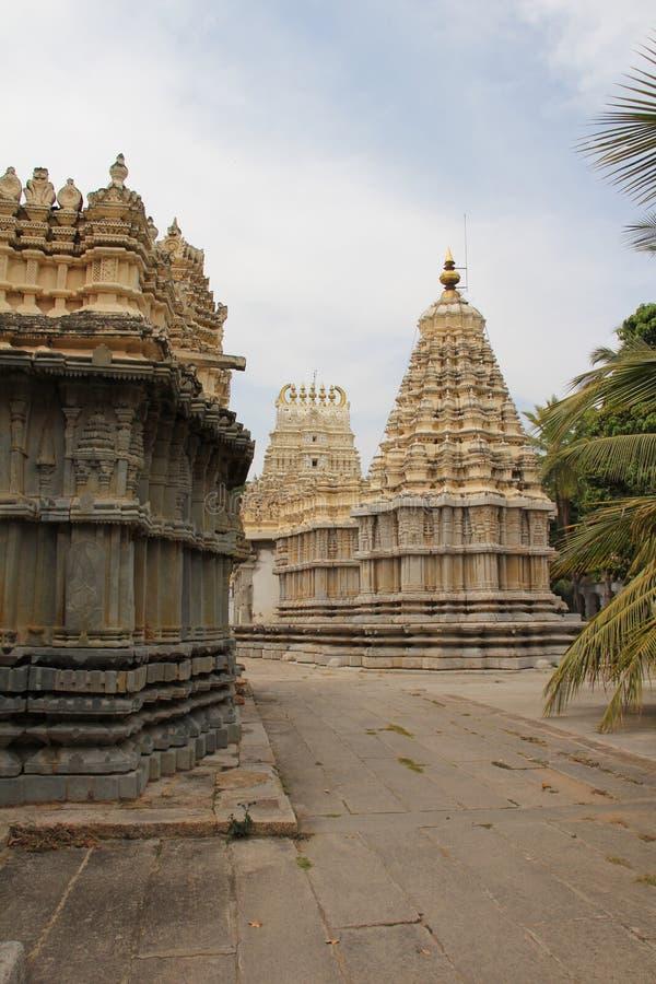 To the rear of Shree Shvetha Varaha Swamy. According to the Archaeological Survey of India, the Shveta Varahaswamy temple was constructed in the Hoysala style stock images