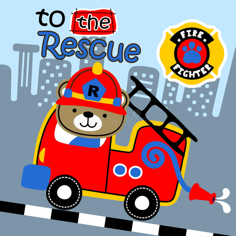 to the rescue vector illustration