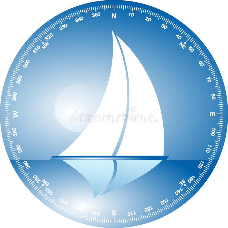 Download To sail stock vector. Illustration of sailing, classic - 14083870