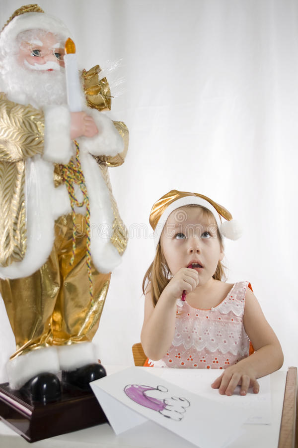 To Santa Royalty Free Stock Images