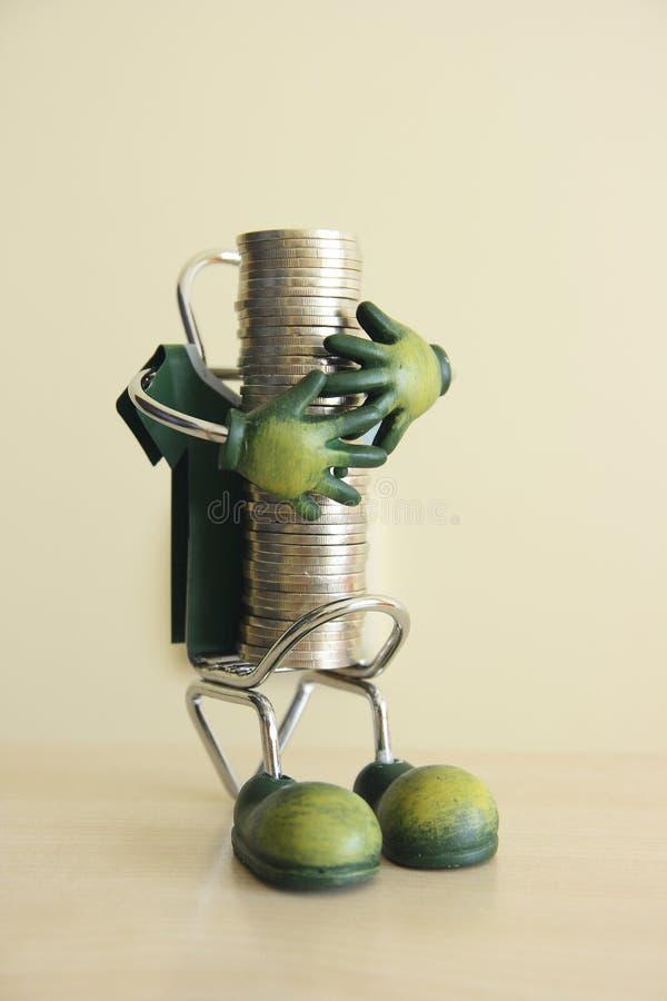 To save money 2. A photo which symbolizes saving money stock image