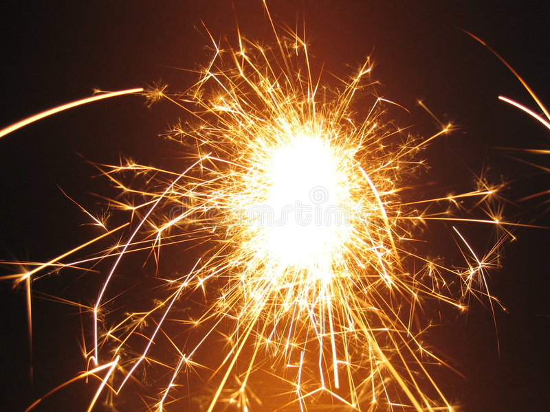 To sparkler