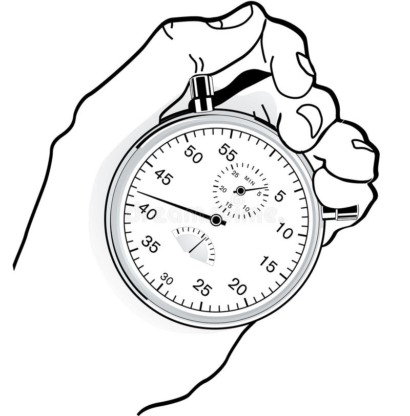 Download To time check stock vector. Image of watch, timepiece - 13975218