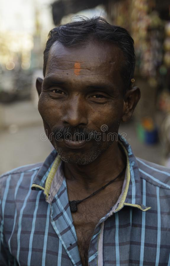 My Tuk Tuk Driver for the Day royalty free stock image