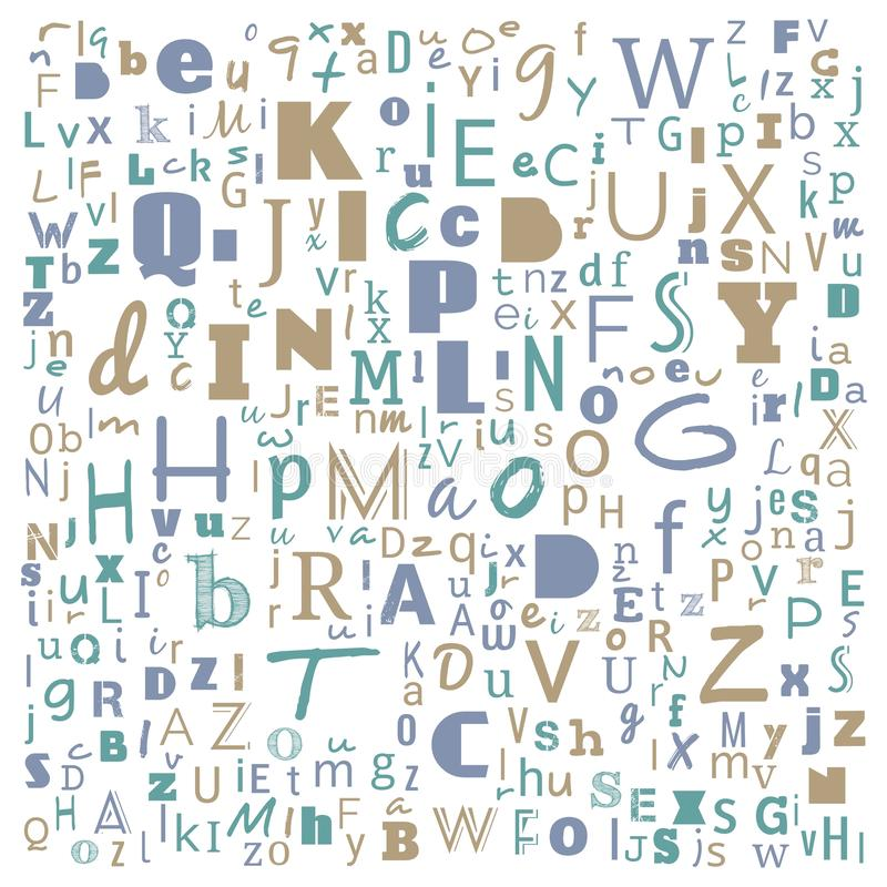 A to Z word cloud, multicolor Alphabet word cloud, t-shirt and shirt print design, Bunche of Alphabet random place art, background. For website or web-page vector illustration
