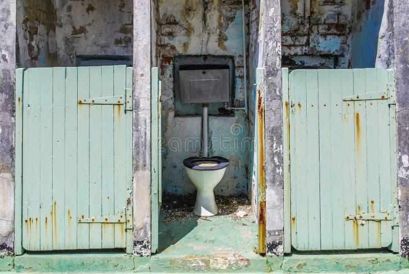 Toaleta w Fremantle więzieniu obrazy royalty free