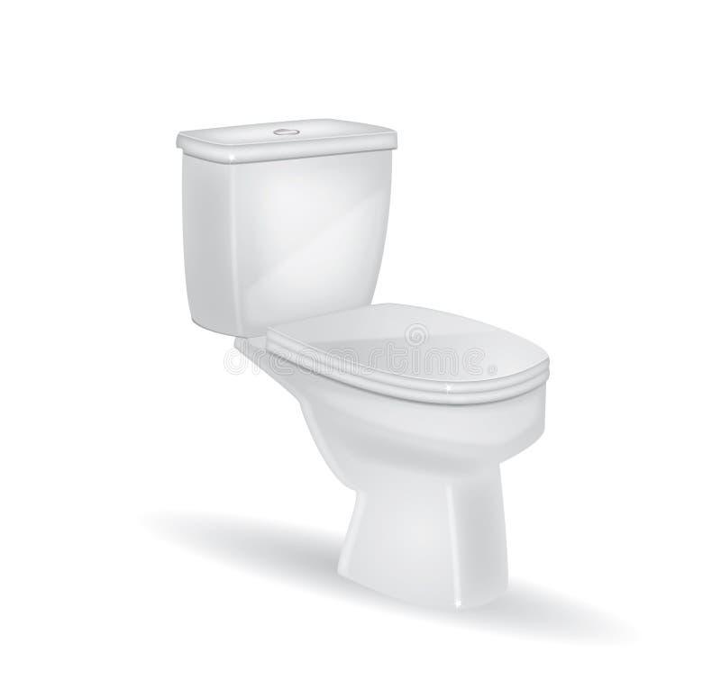 toaleta wektor royalty ilustracja
