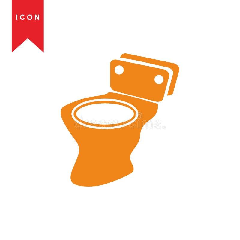 Toalete ilustração do vetor