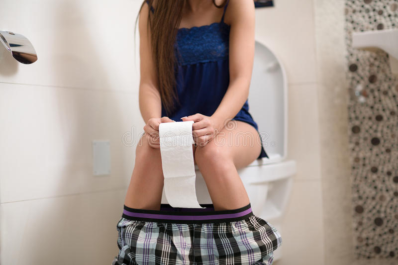 Toalete da manhã fotos de stock royalty free