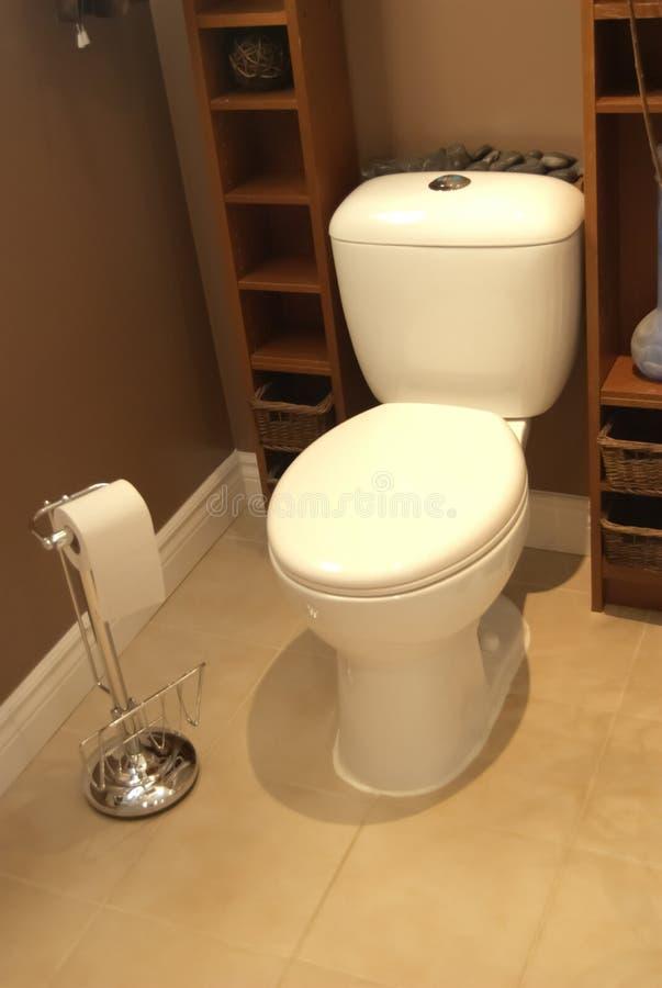 Toalete do banheiro fotografia de stock