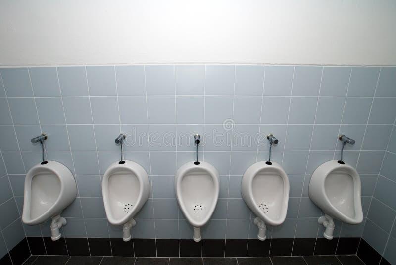 Toalete do Mens imagens de stock