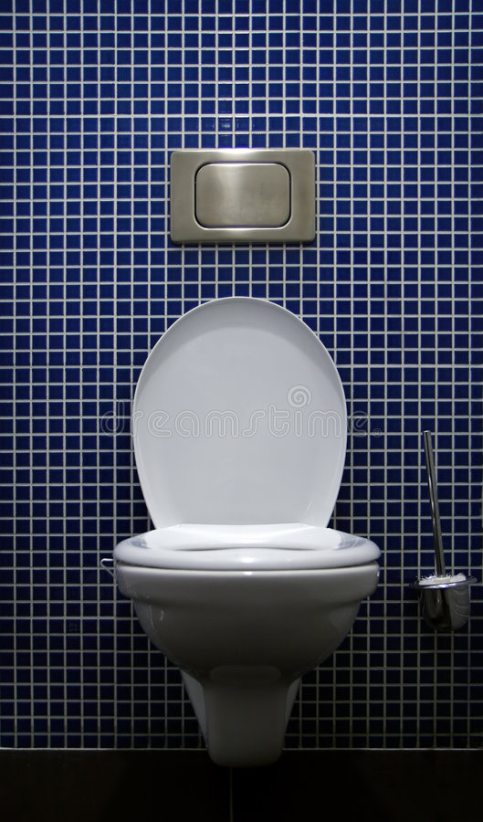 Toalete para dentro foto de stock royalty free