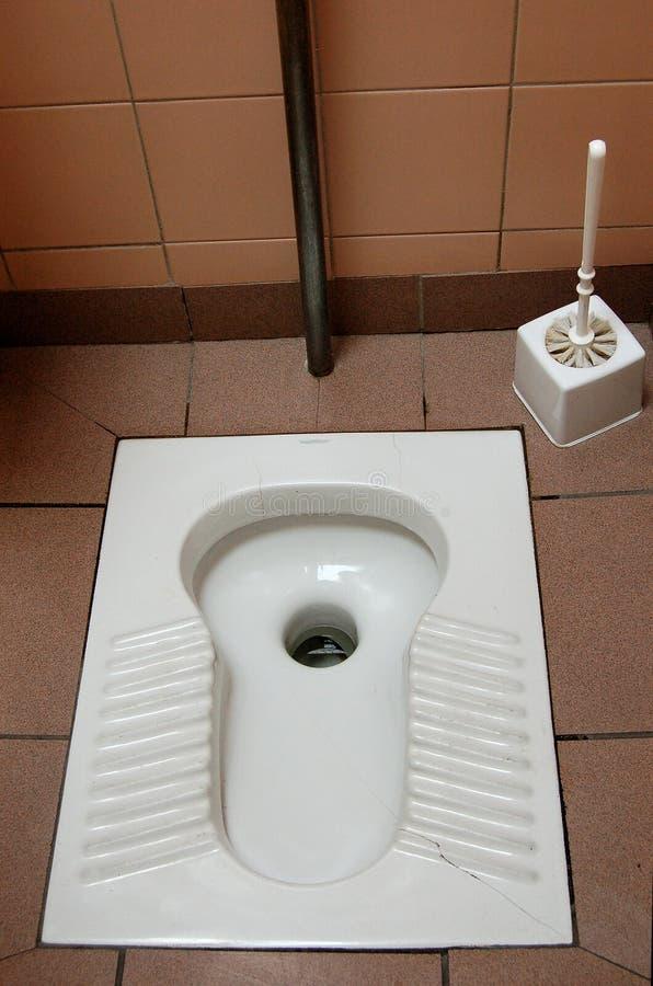 Toalete turco fotografia de stock