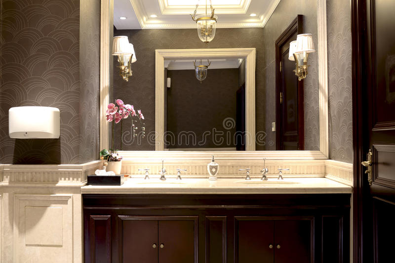 Toaletes luxuosos fotografia de stock