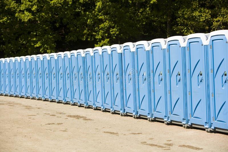 Toaletes públicos foto de stock