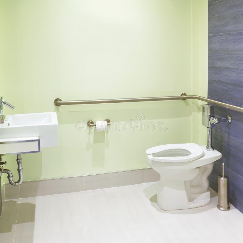 Toaletowy Wewnętrzny projekt fotografia stock