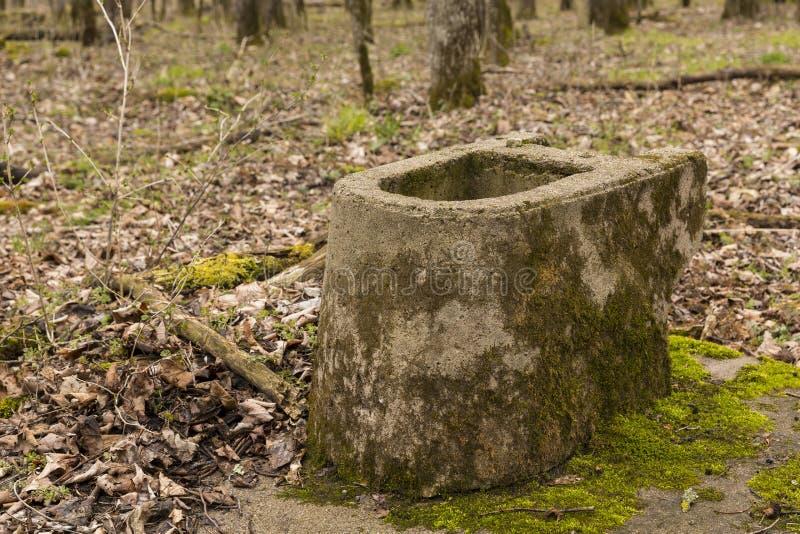 Toaletowy Zostaje zdjęcie stock