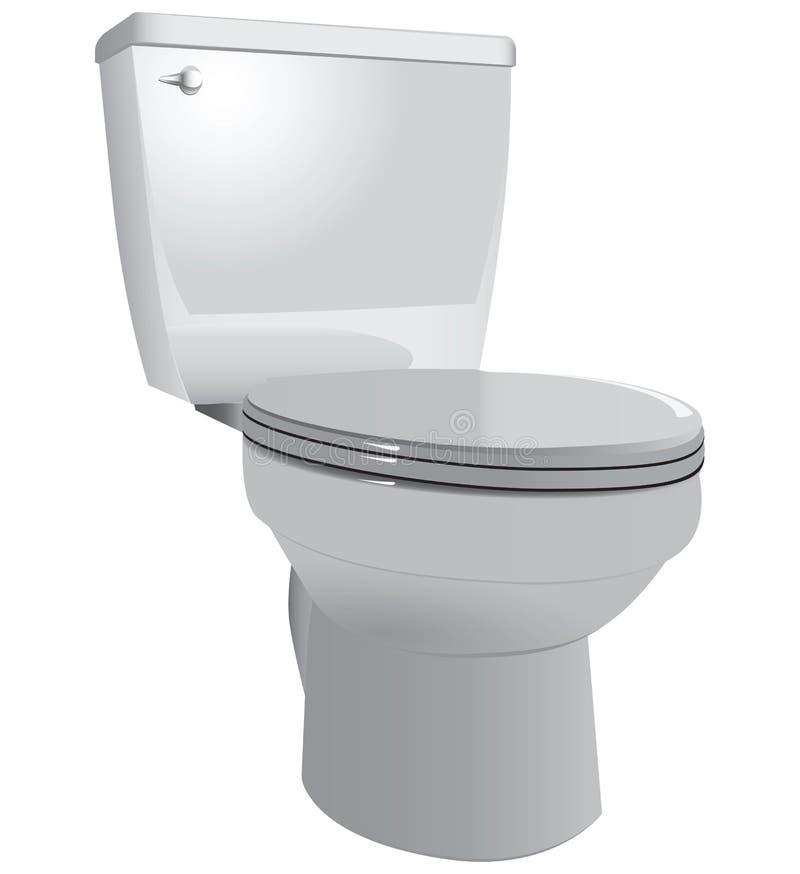 Toalettbunke vektor illustrationer