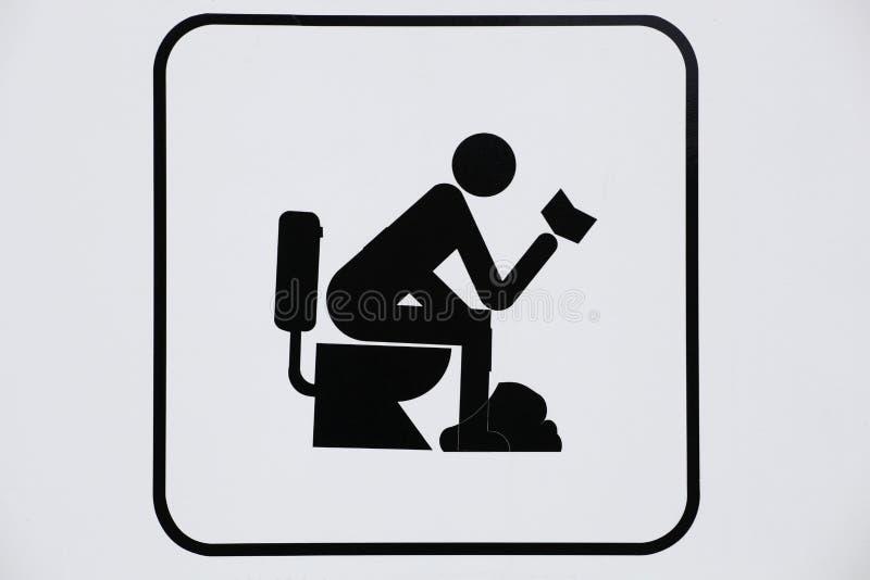 toaletter royaltyfri illustrationer