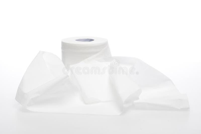 Toalettpapper royaltyfri foto