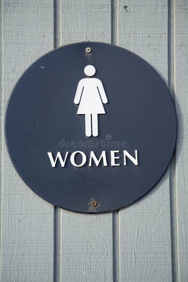 toalety szyldowe kobiety zdjęcia royalty free