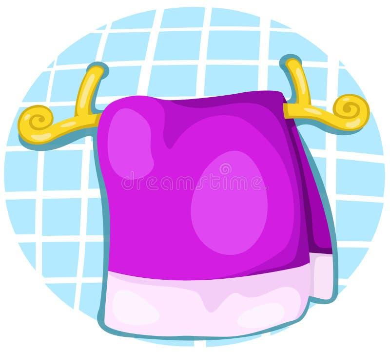 toalha ilustração stock