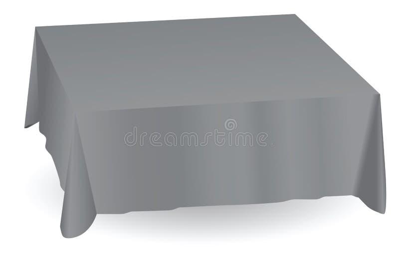 Toalha de mesa ilustração stock