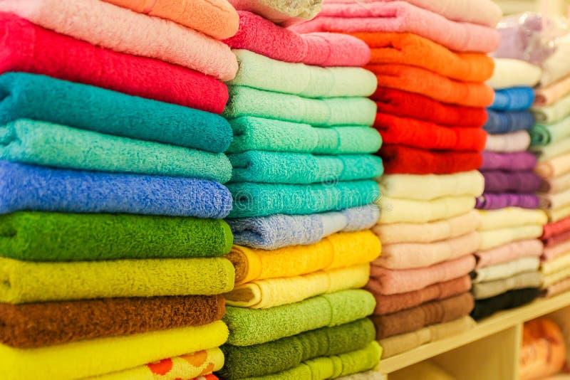 toalhas fotografia de stock