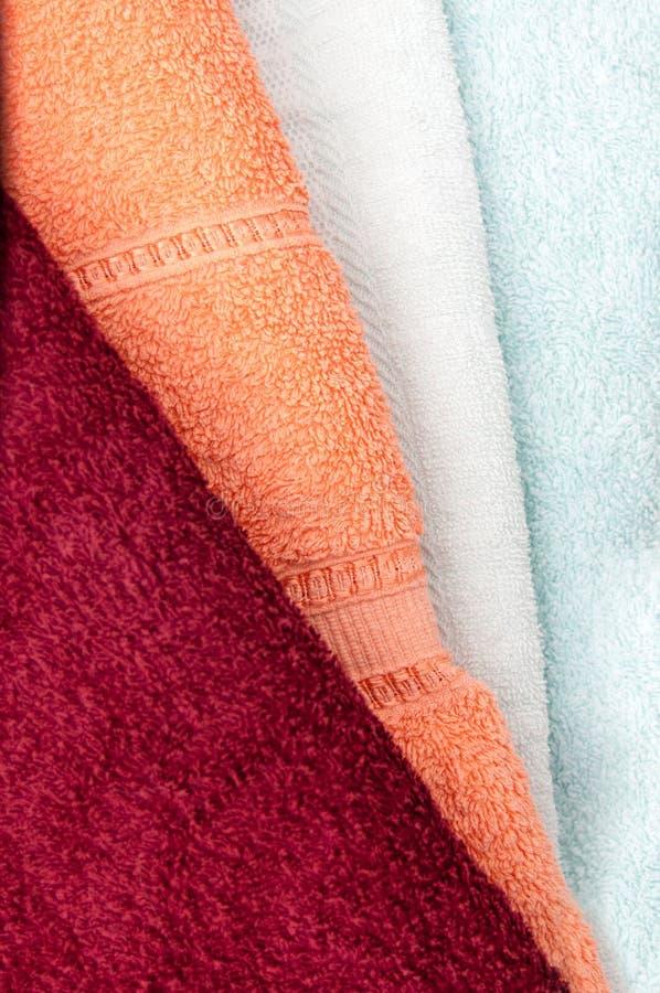 toalhas fotos de stock