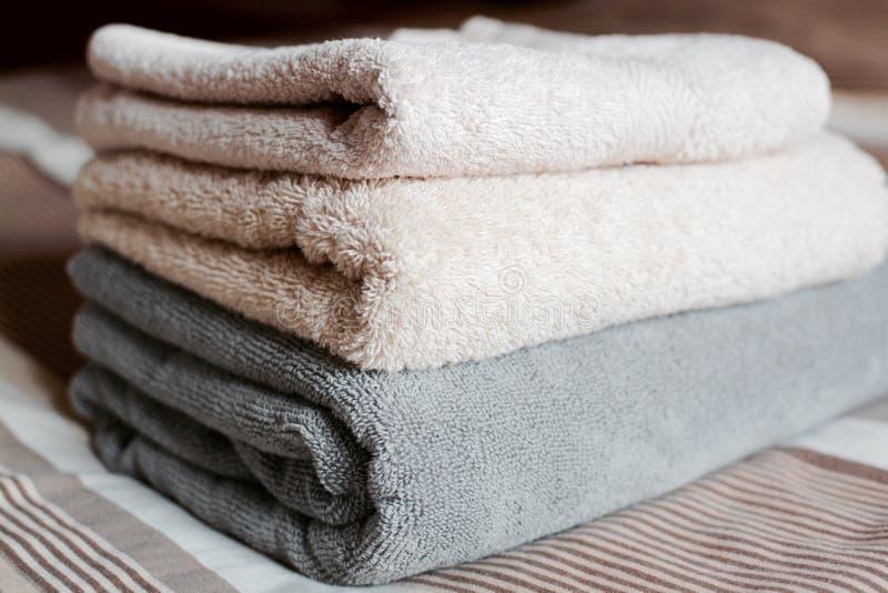 toalhas foto de stock