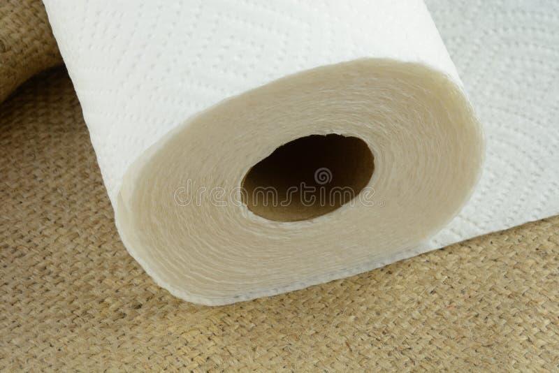 Toalhas de papel imagem de stock