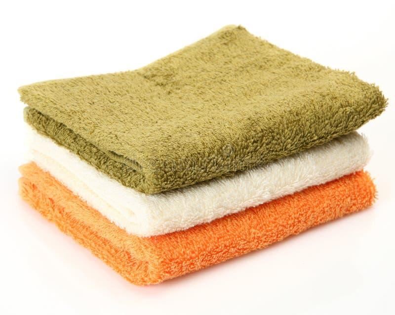 Download Toalhas do algodão imagem de stock. Imagem de clap, fundo - 26512633