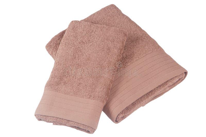 Download Toalla rosada dos foto de archivo. Imagen de seco, hermoso - 41904780