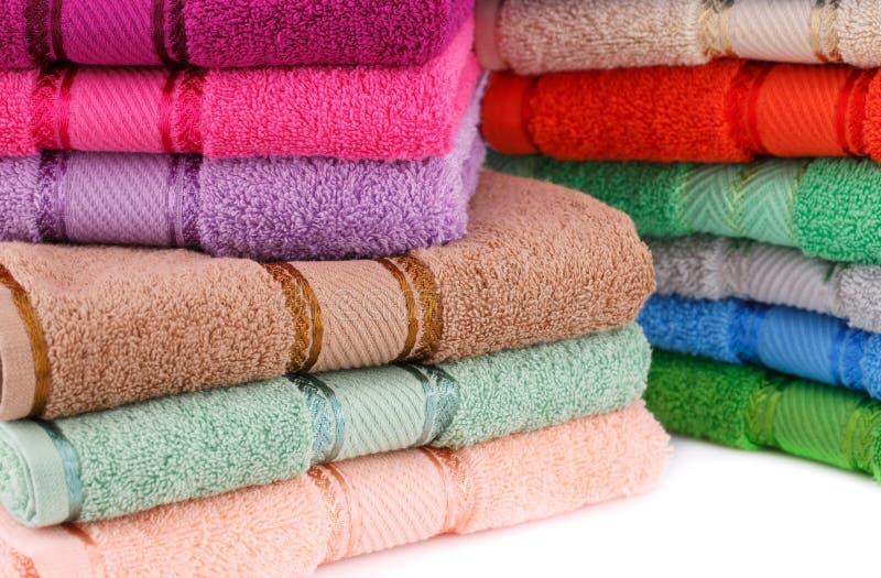 toallas fotografía de archivo libre de regalías