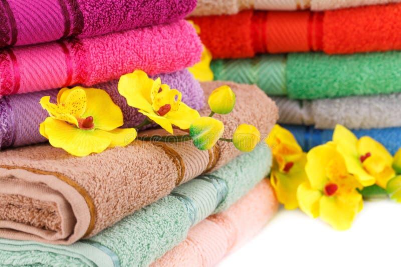 toallas imágenes de archivo libres de regalías