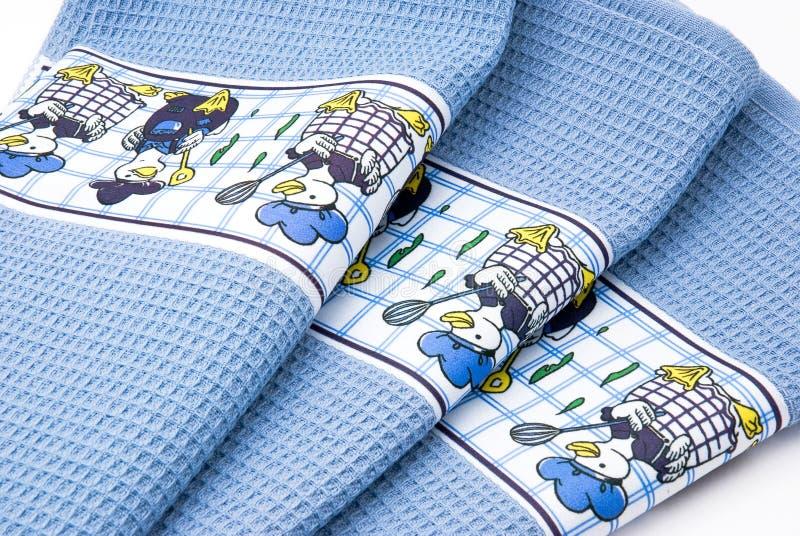 Toallas del algodón foto de archivo