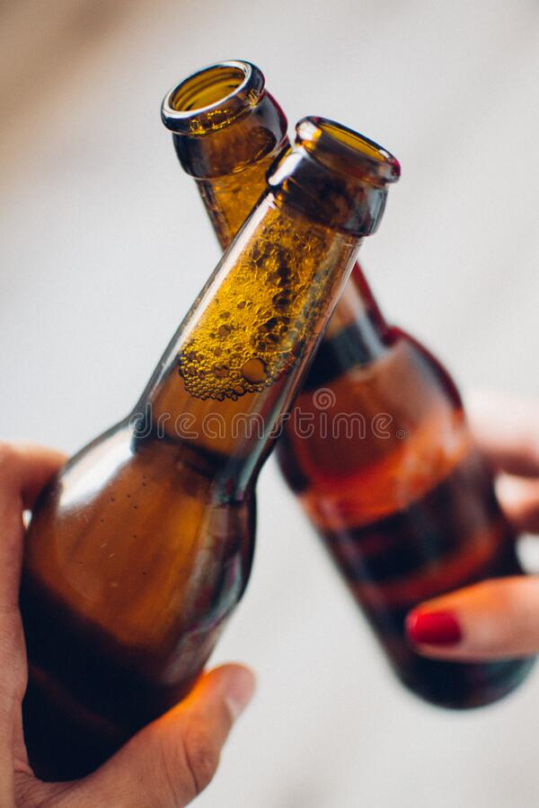 Toast With Beer Bottles Free Public Domain Cc0 Image