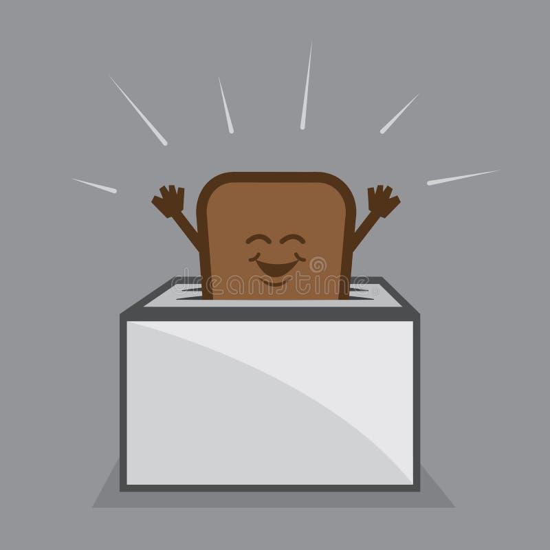 Free Toast Character Toaster Stock Photo - 31412920