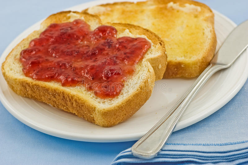 Download Toast And Jam Royalty Free Stock Images - Image: 22500909