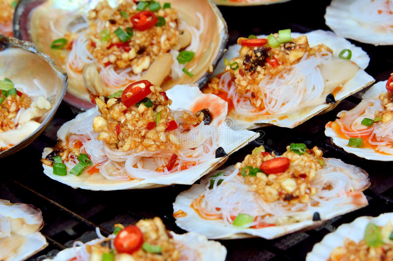 Download Toast scallop stock photo. Image of food, scallop, delicious - 31469668