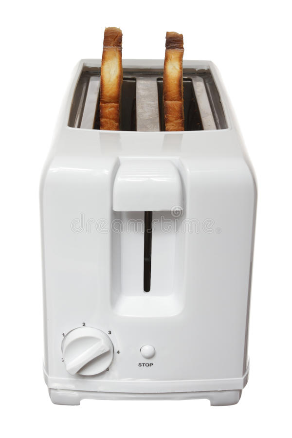 Toast In Toaster Stock Photography