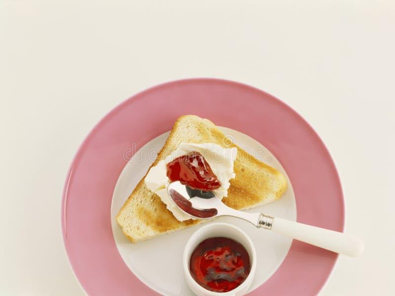 Toast Triangle Royalty Free Stock Image