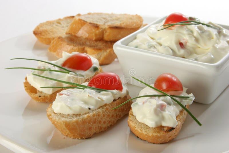 Toast und Käse lizenzfreie stockfotografie