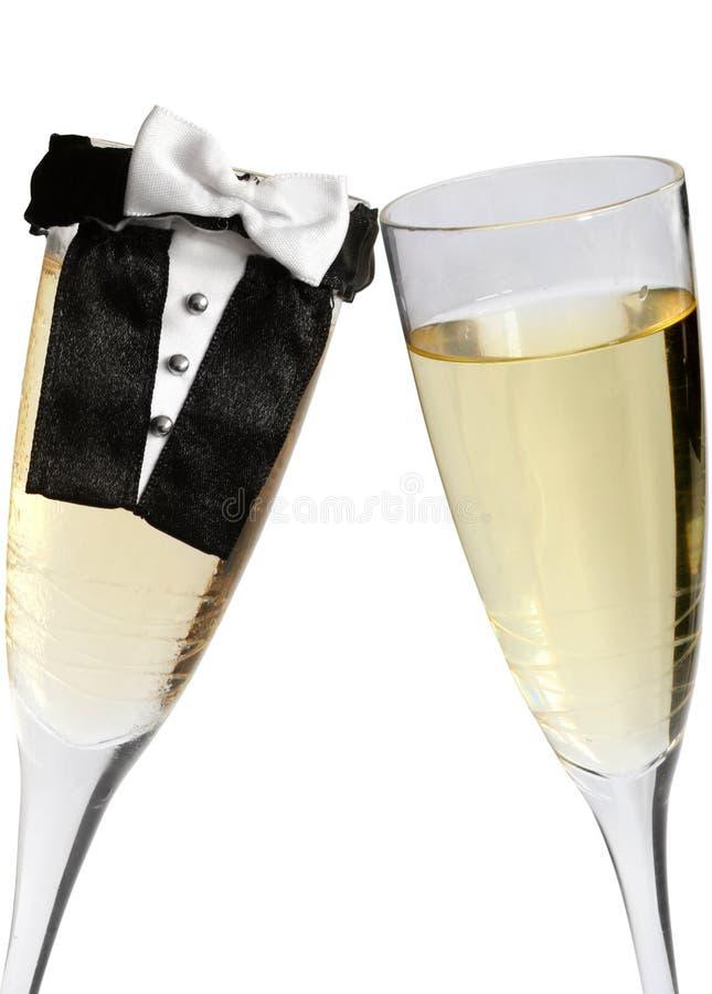 toast za ślub obrazy stock