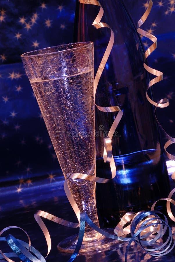 toast za szampańska obraz stock
