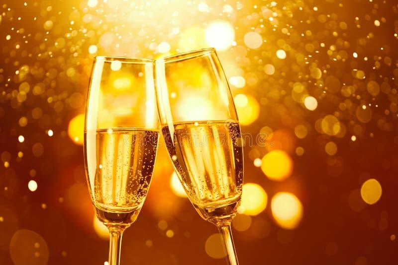 toast za szampańska obraz royalty free